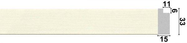 Рама для картины из пластикового багета 133001