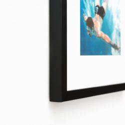 Черная рама для графики или фото