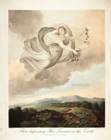 Картина Роберта Джона Торнтона Флора засевает землю