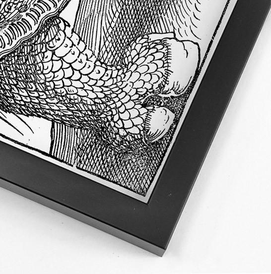 Картина Дюрера Носорог в раме