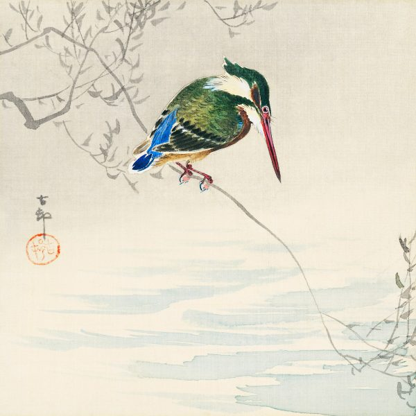 kingfisher by Ohara Koson