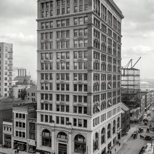 Baltimore Maryland circa 1906 The Continental винтажная Америка