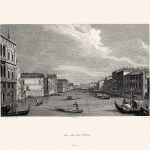 Каналетто - Венеция - вид на гранд канал