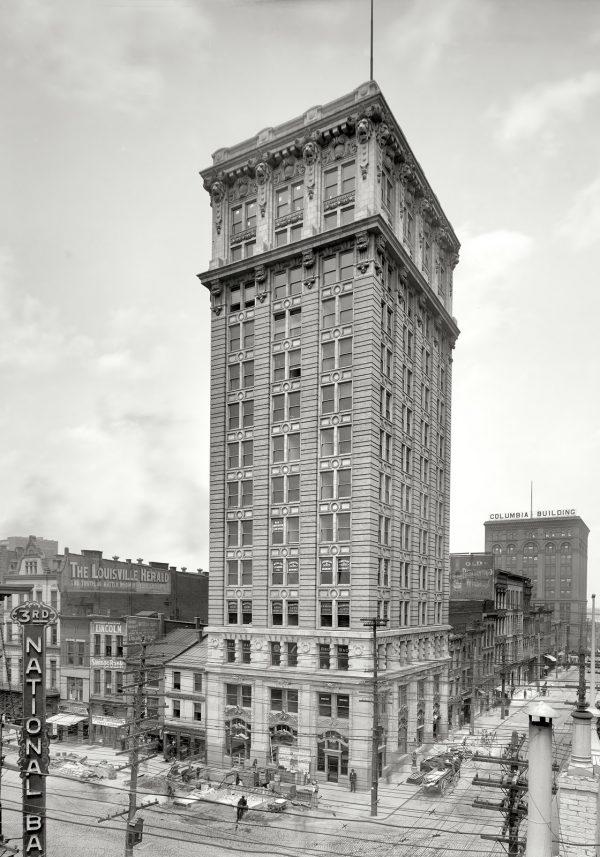 www Louisville Kentucky circa 1906 Lincoln Savings Bank