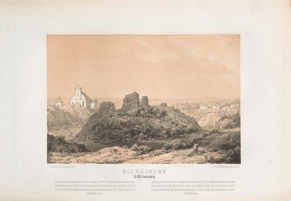 Napoleon-Orda-Gieranony-Ruiny- zamku-Gashtoldau-Kascel-Sw-Mikoly-Siadziba-Milewskich