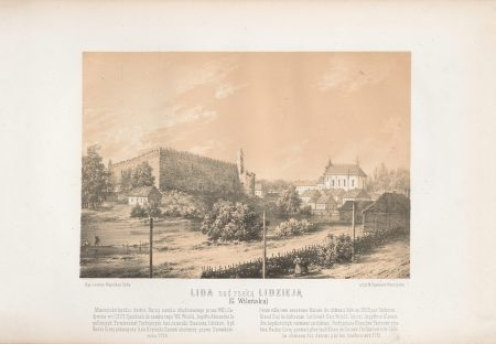 Napoleon-Orda-Lida-Ruiny-zamku-Gedymina-1341