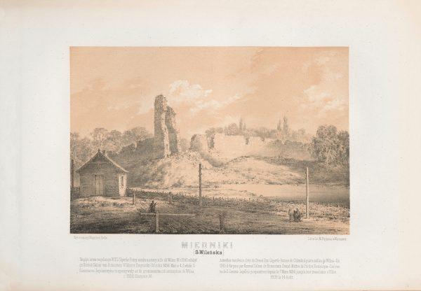 Napoleon-Orda-Miedniki-Ruiny-zamku-Olgierda-1377