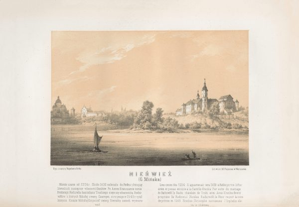 Napoleon-Orda-Niasviz-Zamak-Radziwilau-Kascel-jezuitau-i-bernardyncau