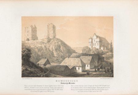 Napoleon-Orda-Nowagrudak-Ruiny-zamku-Mendouga-Kazcel