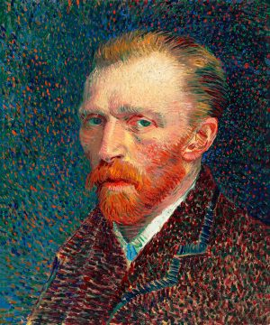 Self Portrait 1887 by Vincent Van Gogh. Original from the Art Institute of Chicago 60 50 180