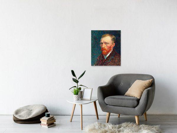 Автопортрет Ван Гога 60*50см