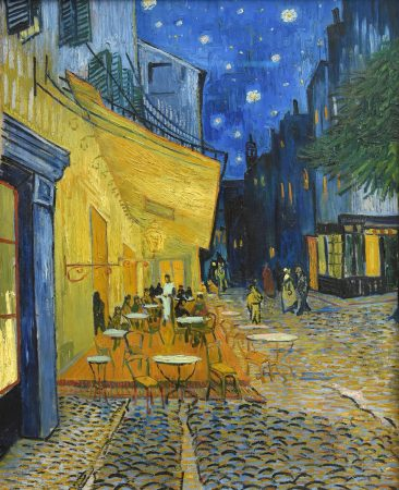 Vincent van Gogh Caffe Terrase at night