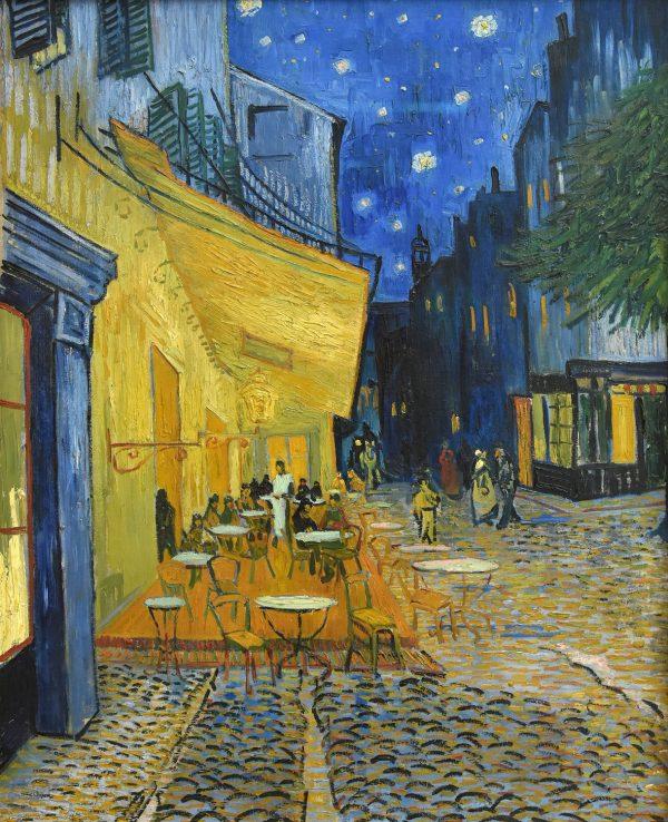 Vincent van Gogh Caffe Terrase at night