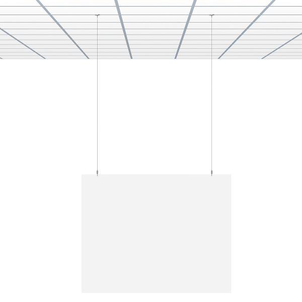 7807.510 экран защитный с подвеской к подвесому потолку