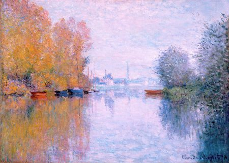 Autumn on the Seine Argenteuil Claude Monet High Museum of Art 50 70 180