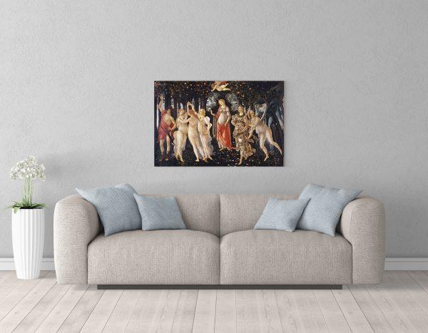 Картина 56х86 см Botticelli primaverа