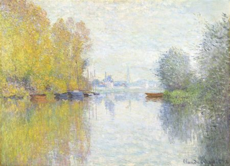 Claude Monet Automne sur la Seine Argenteuil 1873 90 125 190