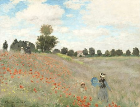 Claude Monet Poppy Field 50 65 180