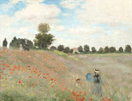 Claude Monet Poppy Field 50 65 180