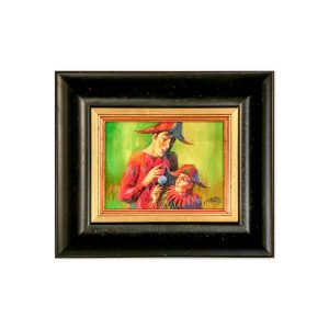 Картина Два клоуна Анатолия Концуба