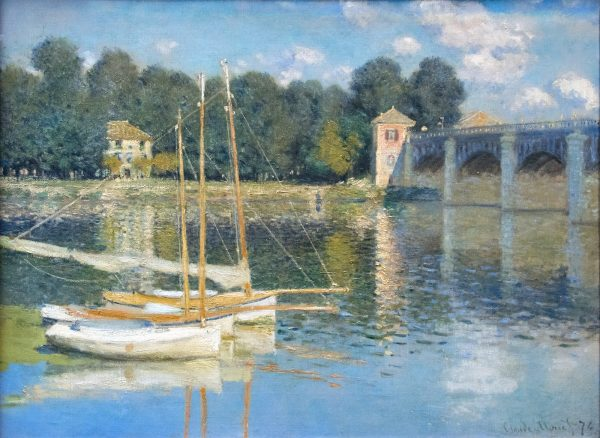 Le Pont dArgenteui Claude Monet resize height 60 80 180