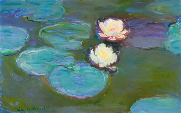 Nympheas 1897–1898 by Claude Monet from the Los Angeles County Museum of Art 50 80