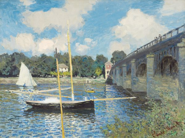 The Bridge at Argenteuil 1874 by Claude Monet the National Gallery of Art 50 66 180