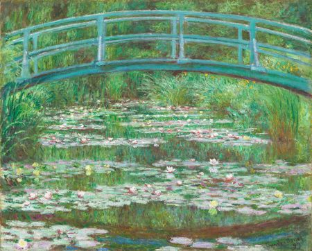 The Japanese Footbridge 1899 by Claude Monet from the National Gallery of Art 50 60