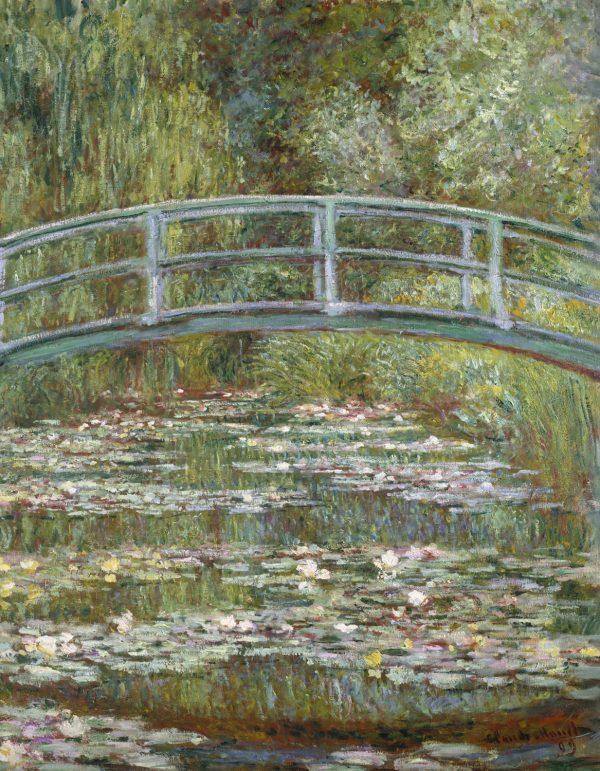 The Water Lily Pond 1899 Claude Monet Metropolitan 90 70 180