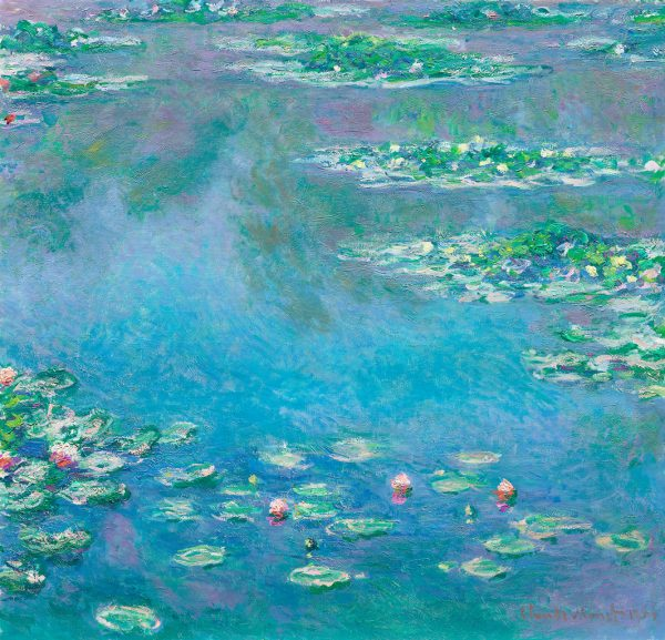 Water Lilies 1840–1926 by Claude Monet the Art Institute of Chicago 50 52