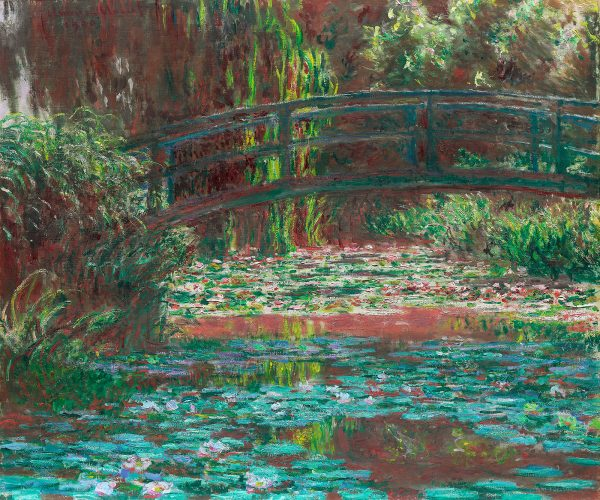 Water Lily Pond 1900 by Claude Monet the Art Institute of Chicago 50 60
