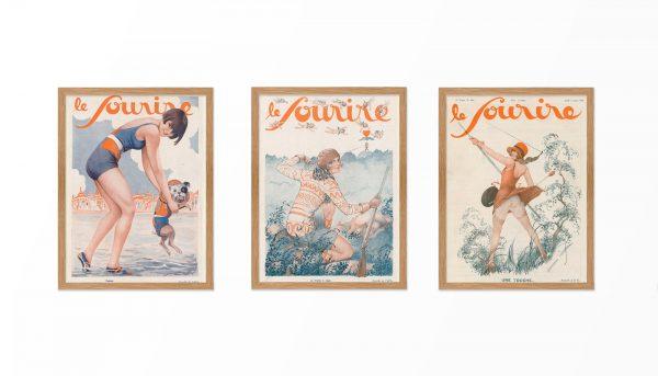 Триптих из картин Арманда Валли