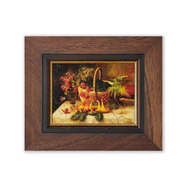 Репродукция картины Натюрморт с грибами (Ханс Зацка)