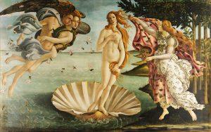 Sandro Botticell La nascita di Venere