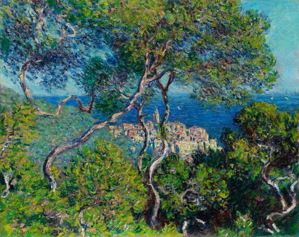 bordighera 1884 by claude monet 80x100