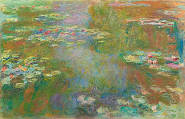water lily pond 1917 1919 by Monet