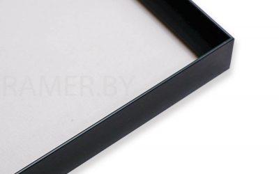 Черная рамка для картины или фотографии 25×35см (191121)