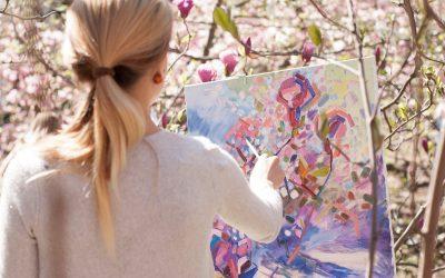 Как выбрать раму для картины начинающему художнику