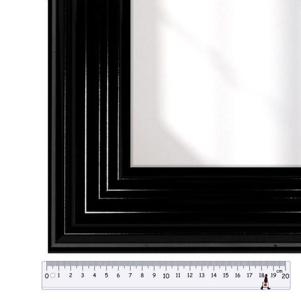 197010 черный багет для зеркала