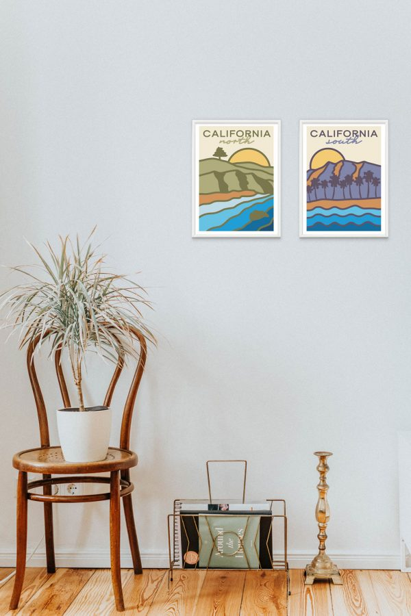 california on the wall 002