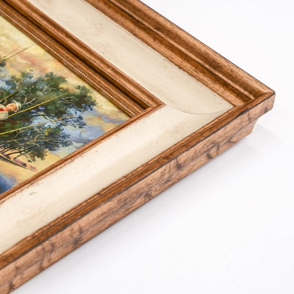 "Картина в раме ""Большая рыба"" Анатолия Концуба"